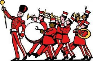 Band clipart school band. High marching kid clipartix