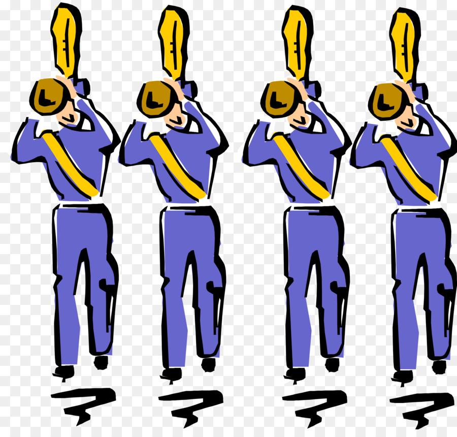 Marching musical ensemble clip. Band clipart school band