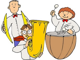 Free. Band clipart school band