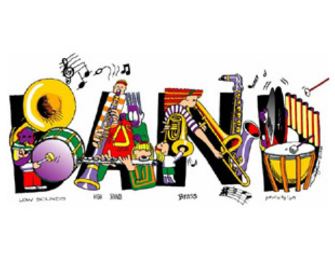 Austin middle home . Band clipart school band
