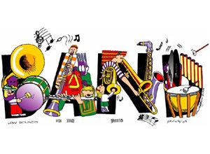 Youth starts next monday. Band clipart school band