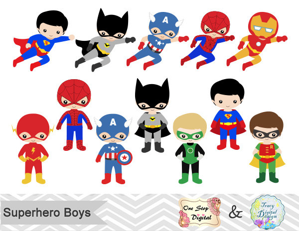 Superheroes clipart cute. Free superhero cliparts download