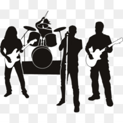 Download free png rock. Band clipart transparent