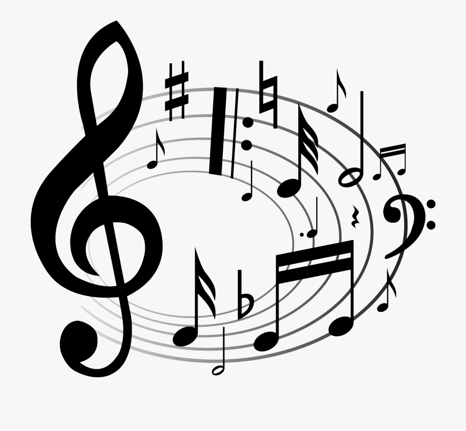 Music notes png free. Band clipart transparent