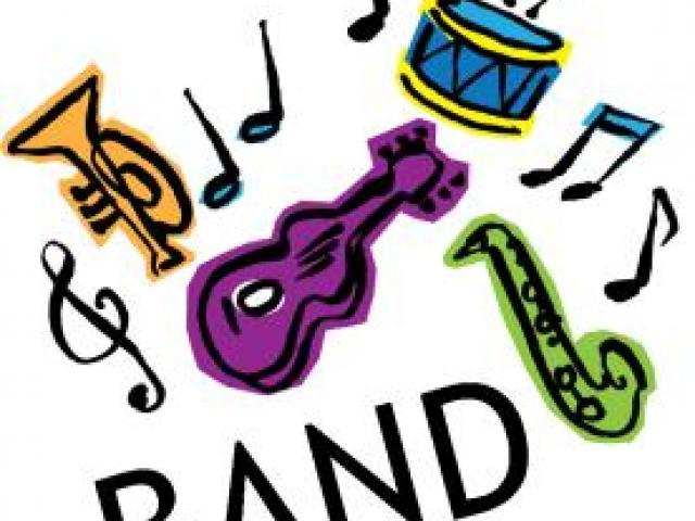 Words clipart band. Free word download clip