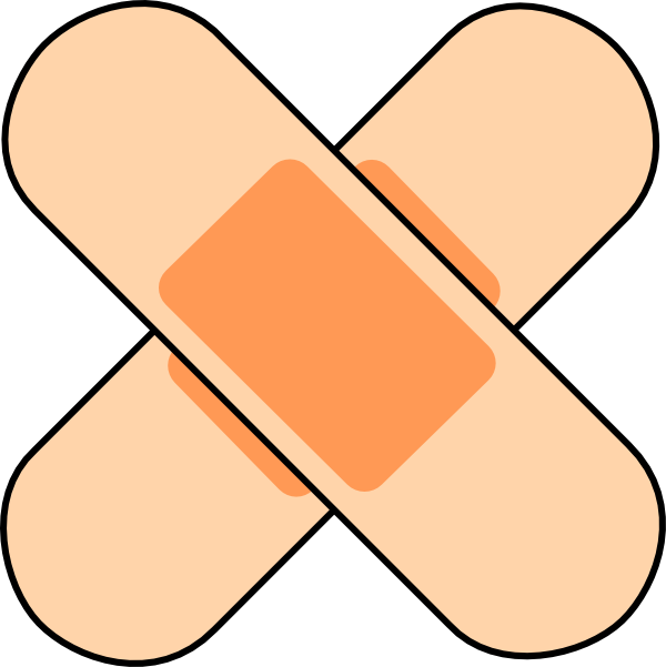 Bandaid clipart. Free pictures clipartix images