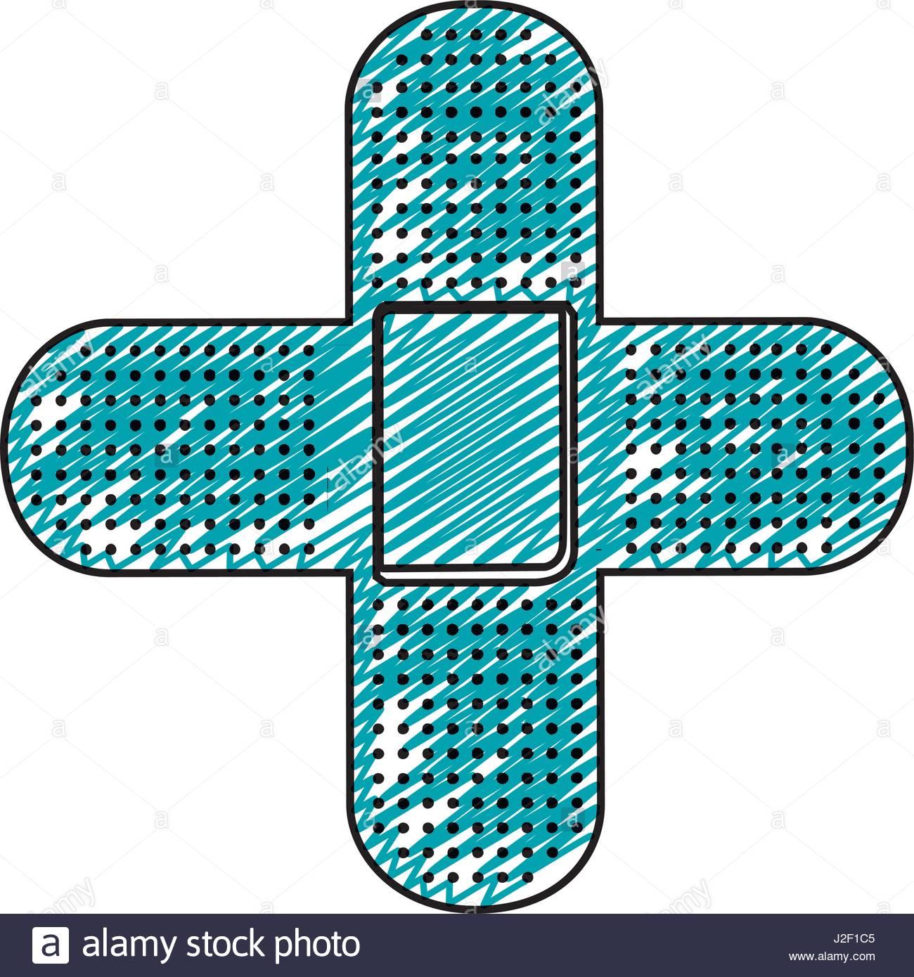 Bandaid clipart cross. Drawing at getdrawings com