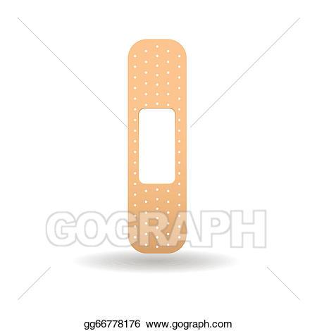 Vector art gg gograph. Bandaid clipart drawing