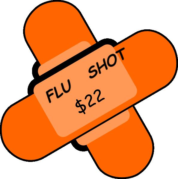Bandaid clipart flu shot, Bandaid flu shot Transparent ...