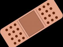 Bandaid clipart illustration. Clip art band aid
