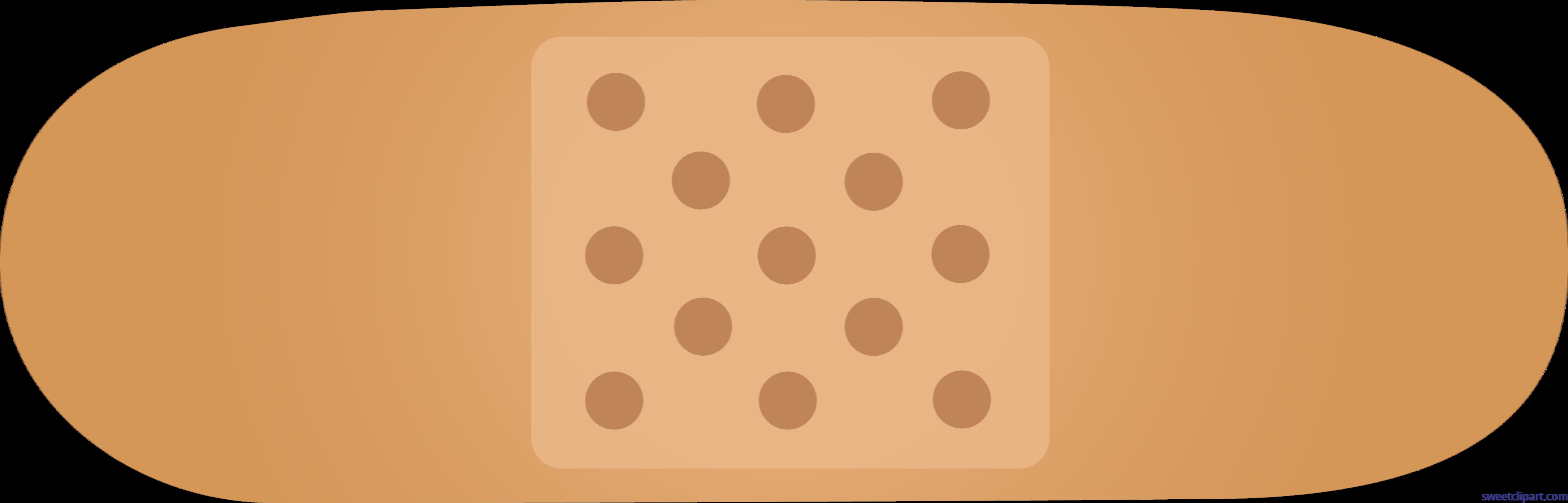 Dot clipart square. Bandaid beige clip art