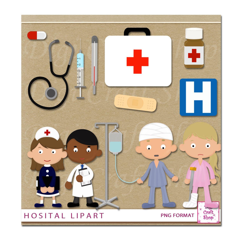 Bandaid clipart nursing. Digital hospital images doctor