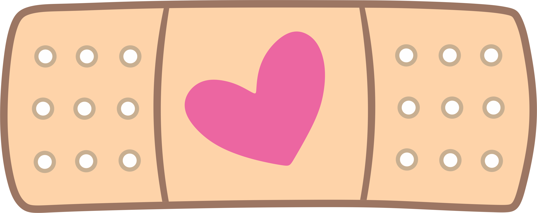 Fantastical band aid clip. Bandaid clipart pink
