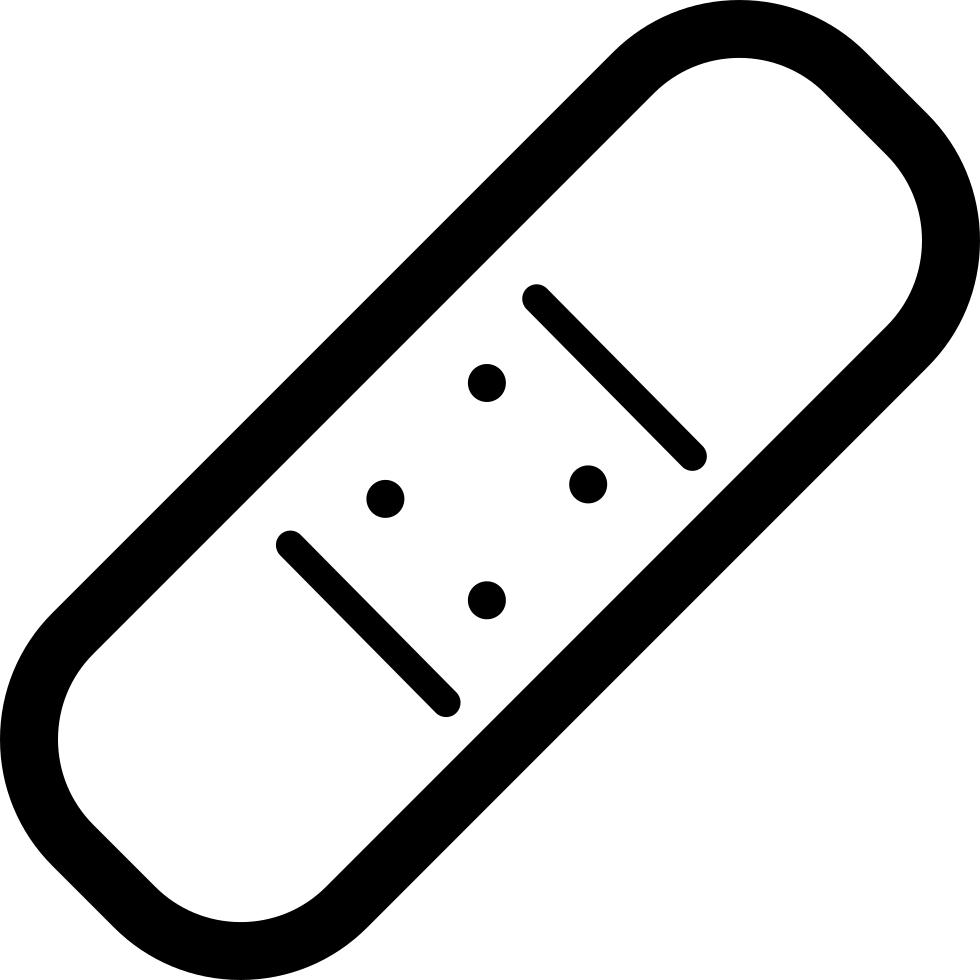 Bandaid Clipart Sketch  Bandaid Sketch Transparent Free