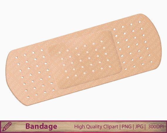 Bandaid clipart transparent background. Bandage medical clip art