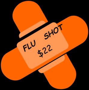 Bandaid clipart vaccination. Flu shot clip art