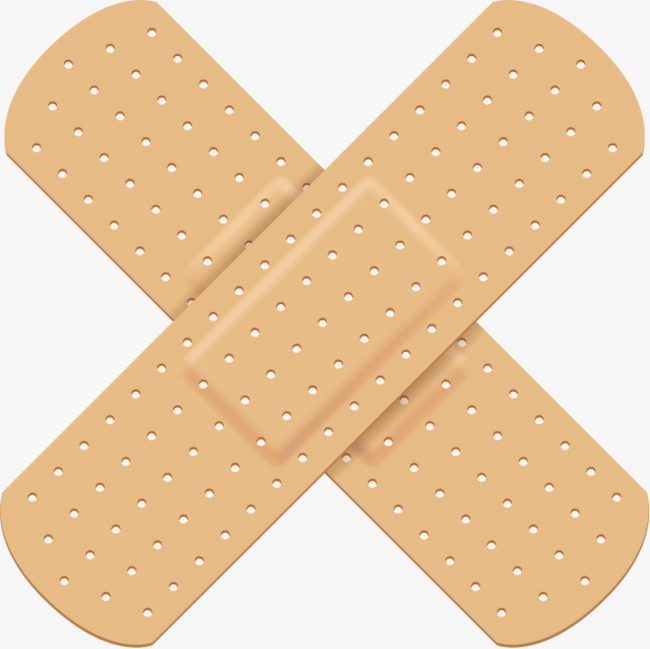 Bandaid clipart vector. Band aid wrap medical