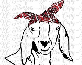 Donkey red paisley ready. Bandana clipart bandana headband