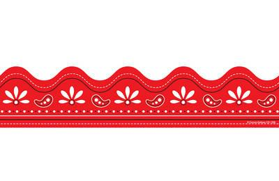 Bandana clipart banner. Free red cliparts download