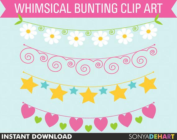 Bandana clipart bunting. Clipartbunting clip artclip