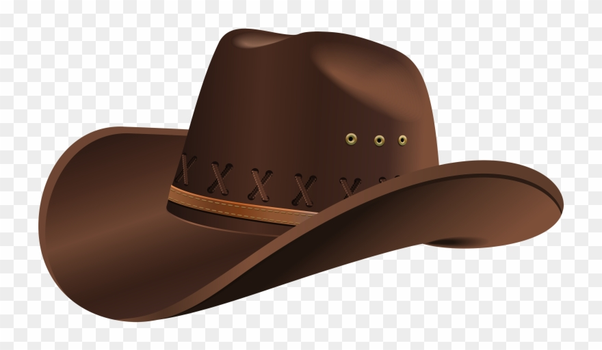 Straw hat png . Cowboy clipart cowboy outfit