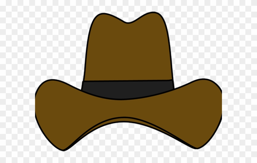Cowboy clipart cowboy outfit. Straw hat
