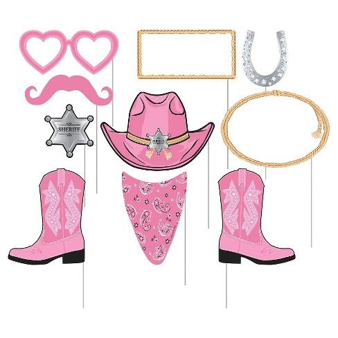 ct pink photo. Bandana clipart cowgirl bandana