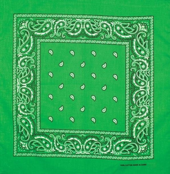 Bandana clipart green bandana. Artex products made in