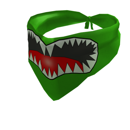 Bandana clipart green bandana. Mean roblox
