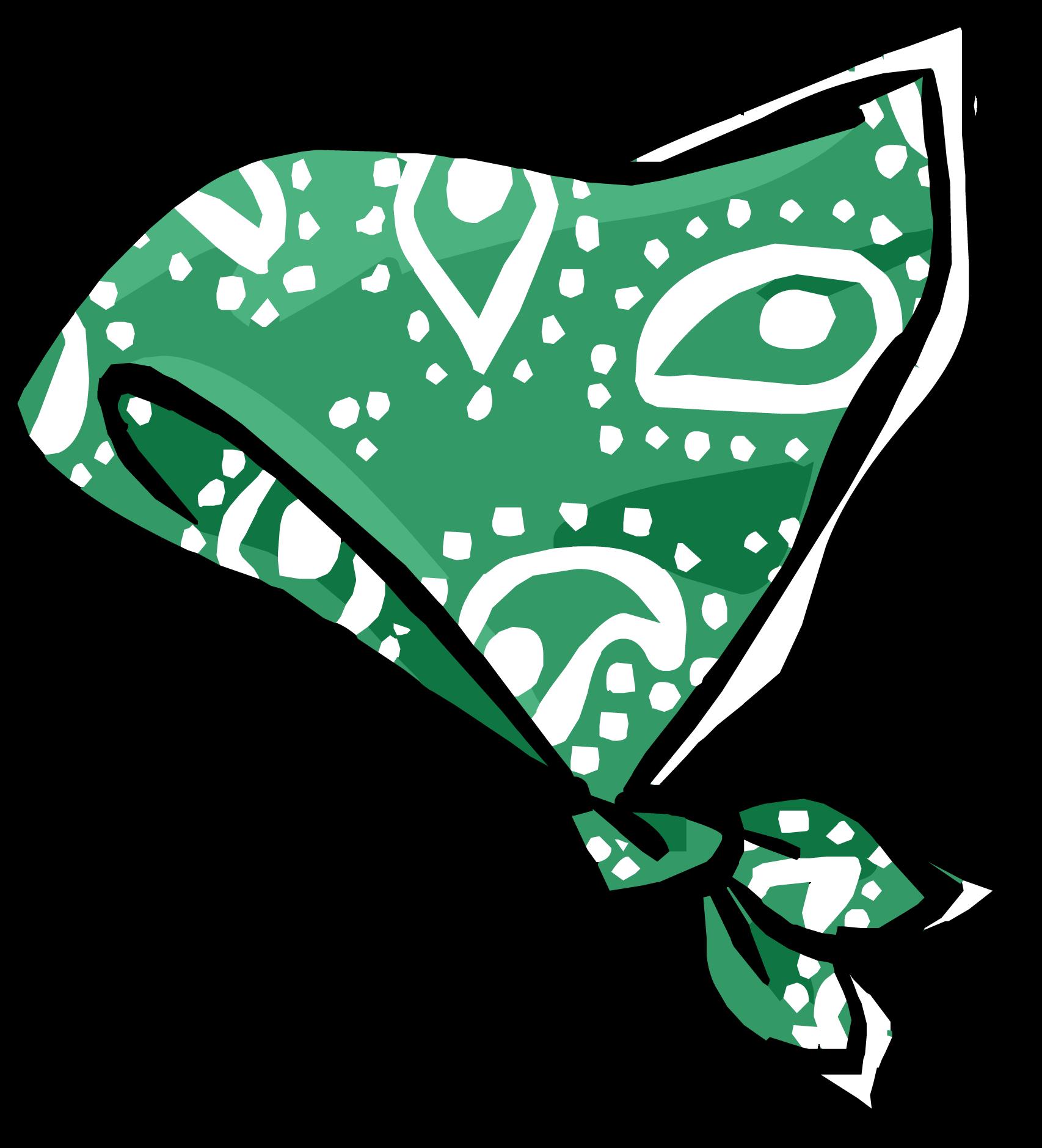 Bandana clipart green bandana. Paisley club penguin rewritten
