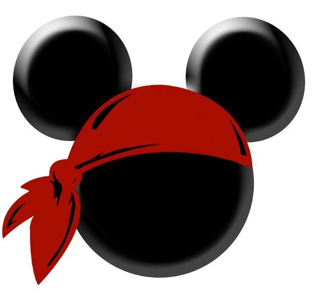 bandana clipart mickey pirate