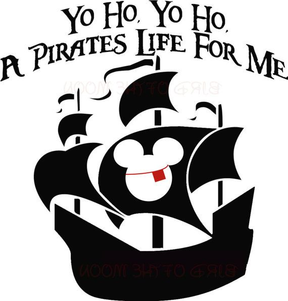 Bandana clipart mickey pirate. Micky boat party piy