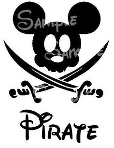 Bandana clipart mickey pirate. S life for me