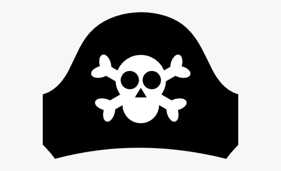 Eye patch drawing easy. Bandana clipart pirate hat