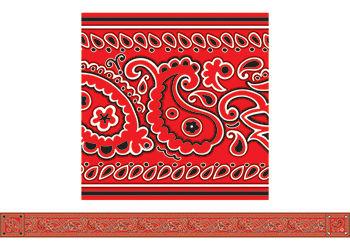 Bandana red bandana