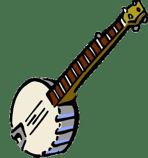Transparent png stickpng. Banjo clipart