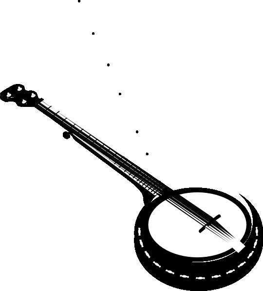 Banjo clipart.  string clip art