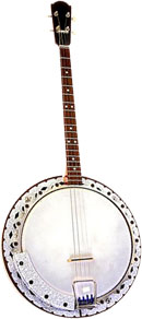 banjo clipart animated