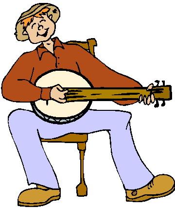 Free cliparts download clip. Banjo clipart animated