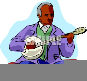 Player free images at. Banjo clipart animated