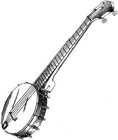 Banjo clipart bango. Jpg