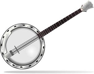 banjo clipart bango