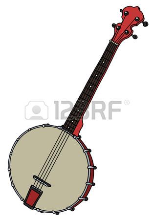Banjo clipart banjo guitar. Drawing at getdrawings com