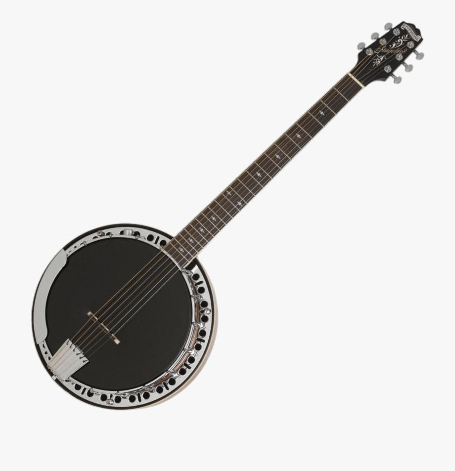 String instrument epiphone pro. Banjo clipart banjo guitar