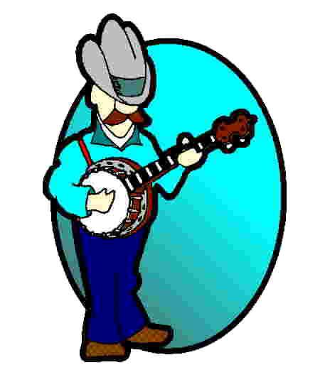 Dan bernard lessons . Banjo clipart banjo player