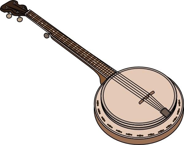 Clip art free vector. Banjo clipart banjo player