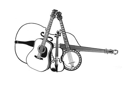 Banjo clipart bluegrass. Image result for in