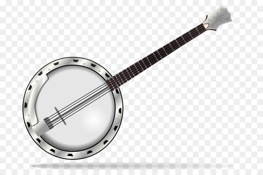 Banjo clipart cartoon. Guitar drawing font transparent