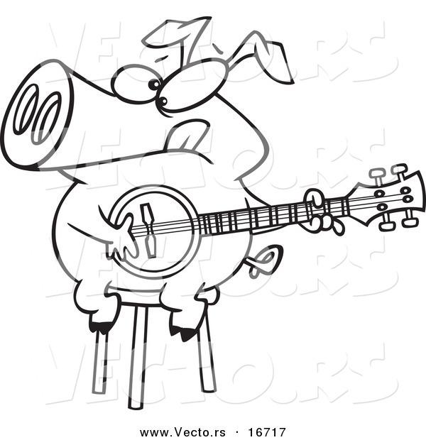 Drawing at getdrawings com. Banjo clipart cartoon