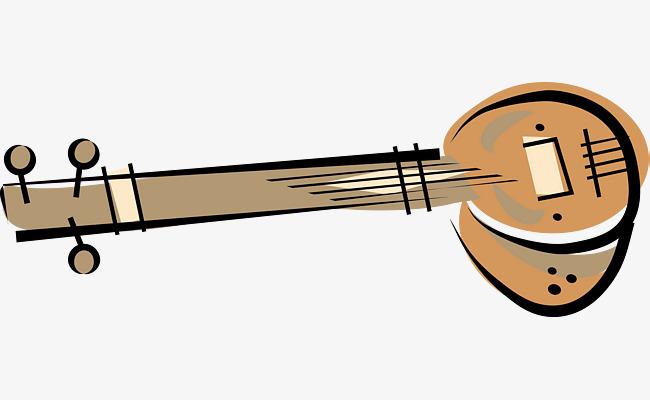 Erhu vector equipment fiddle. Banjo clipart classical music instrument
